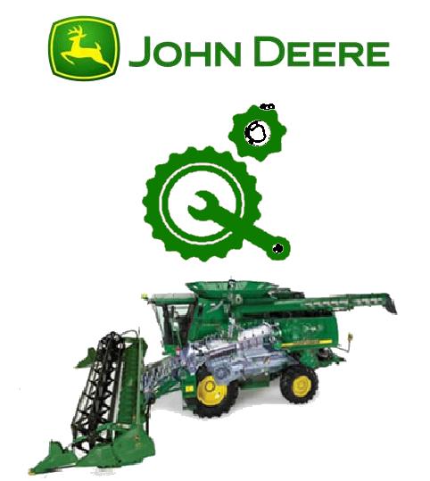 Запчасти к зерноуборочным комбайнам John Deere