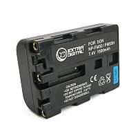 Аккумулятор для Sony NP-FM50, Li-ion, 1500 mAh (BDS2663)