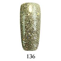 Гель-лак Adore Professional № 136 белое золото 7.5 мл