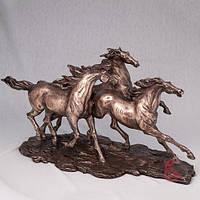 Эксклюзивная статуэтка бегущих лошадей - символ года 2014 - купить подарок в Харькове