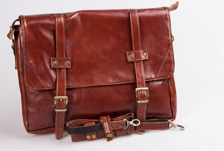 Кожаная сумка Golden от POHVALIN