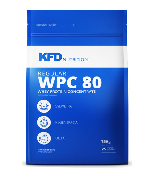 Гейнеры KFD Nutrition Regular WPC 80 750 g