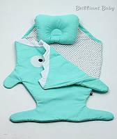 Детский спальник - чехол в коляску с подушкой