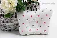 Подушка ортопедическая для новорожденных со звездочками, фото 1