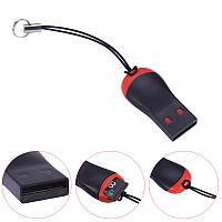 Кардридер USB для карт micro SD