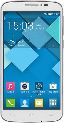 Мобильный телефон Alcatel One Touch 7041D POP C7 Dual white, фото 2