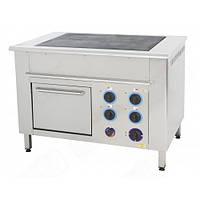 Плита электрическая Orest ПЭ-4-Ш (GN 1/1; 0,36) с духовым шкафом