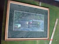 Картина Мавшович пейзаж 1948 год СССР