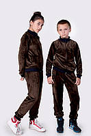 """Велюровый костюм """"Polo"""" турецкий плюшевый!!! велюр высокого качества, 3 цвета ев №4088"""