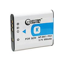 Аккумулятор для Sony NP-BK1, Li-ion, 950 mAh (BDS2646)