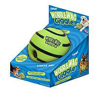 Мячи для собак Wobble Wag Giggle Ball, хихикающая игрушка Вабл Вог Гигл Бол, фото 1