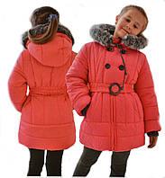 """Детская зимняя куртка для девочки """"Мальвина"""""""