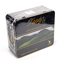 Цейлонский черный чай Kandy's 100 пакетиков (металлическая коробка)