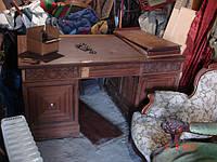 Стол письменный красное дерево ар-деко царизм