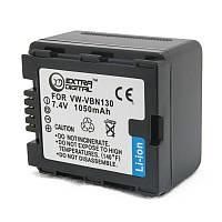 Аккумулятор для Panasonic VW-VBN130, Li-ion, 1050 mAh