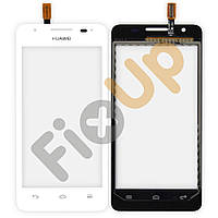 Тачскрин (сенсор) Huawei G510 Ascend, цвет белый