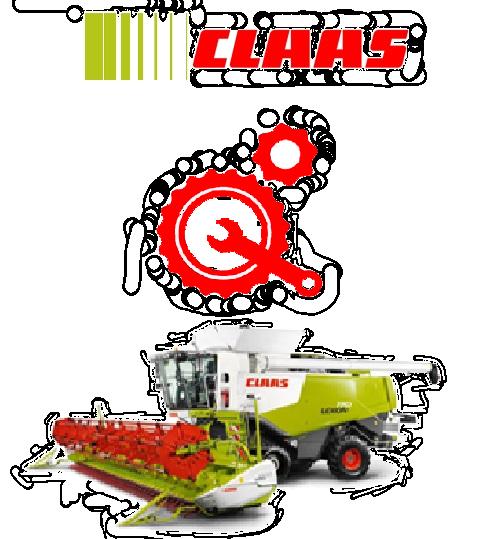 Запчастини до зернозбиральних комбайнів Claas