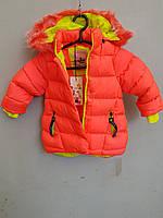 Куртка детская на девочку HIKIS с лентой Beautyfull маленькая