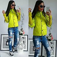 Куртка женская,  модель 205, салатовый