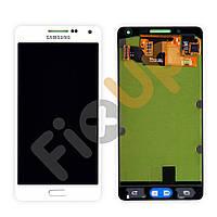 Дисплей Samsung Galaxy A5 A500H, A500F/DS с тачскрином в сборе, цвет белый, большая микросхема, оригинал