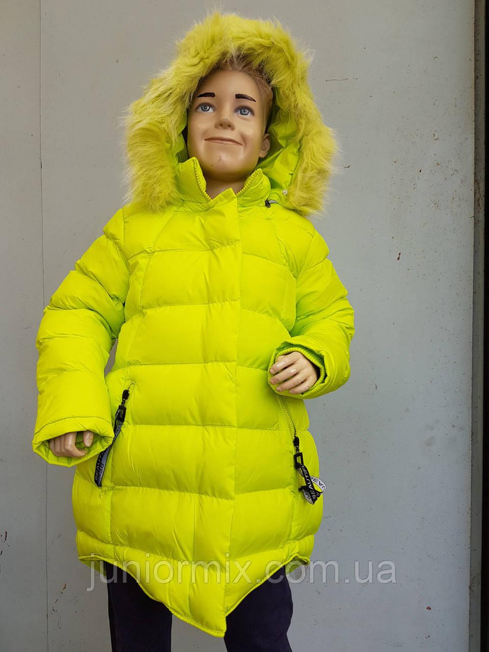 Куртка детская на девочку HIKIS с лентой Beautyfull средняя