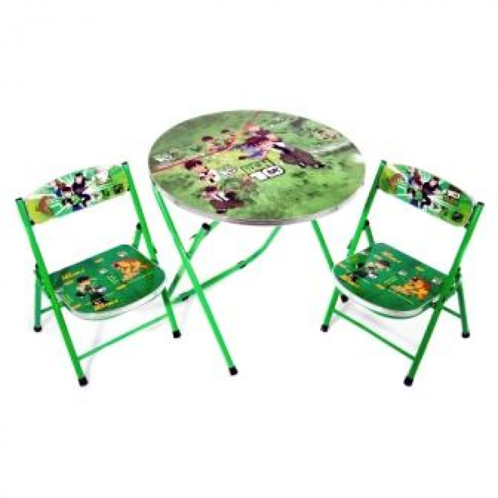 Стол складной и 2 стула DT 22