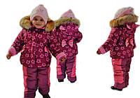 """Детская зимняя куртка для девочки """"Лесюня"""""""