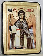Икона греческая Архангел Гавриил золото