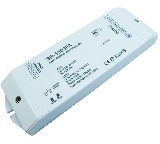 LED контроллер-приемник RGB+W контроллер 4 канала ток 5А/канал 12-36VDC 4 SR-1009FA SUNRICHER 4170