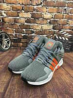 Мужские кроссовки Adidas ClimaCool Ride 2016 (адидас климакул райд) серые, кроссовки для бега