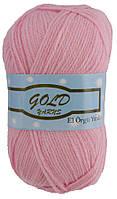 Gold Yarn 300 -025-Полушерстяная Пряжа для  ручного Вязания