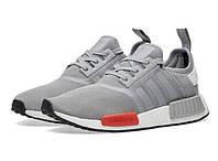Мужские кроссовки Adidas Originals NMD Runner (адидас ориджиналс раннер) серые, мужские кроссовки для бега