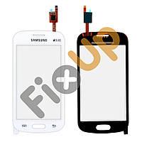 Тачскрин Samsung S7390, S7392 Galaxy Fresh, цвет белый