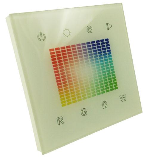 Встраиваемая панель управления Sens SR-2831S-AC-RF-IN 220В 4 канала (RGBW) 1 зона 8129