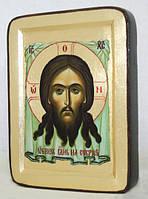 Икона греческая Нерукотворный Образ золото