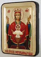 Икона греческая Неупиваемая чаша ПБ золото