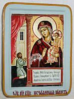 Икона греческая Нечаянная радость ПБ писаная