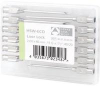 """Иглы многоразового использования комплект (1,5*50 - 1,6*30 - 1,0*30 - 2,0*40)""""Luer Lock"""" HENKE  Германия"""