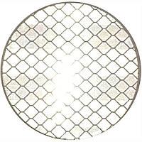Катафот (отражатель) алмазного типа на самоклейке круглый д. 50 мм, белый