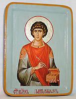 Икона греческая Пантелеимон Целитель писаная