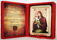 Икона греческая Почаевская ПБ золото