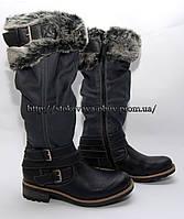 Женские демисезонные высокие сапоги, 39 размер