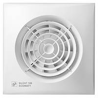 Осевой вытяжной вентилятор Soler&Palau SILENT-100 CZ ECOWATT (230V 50)