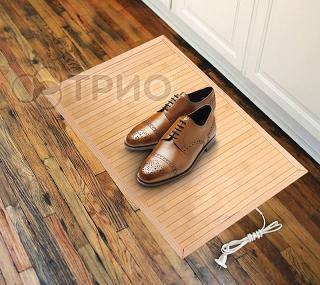 Инфракрасная сушилка для обуви бамбуковая, фото 2