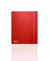 Осевой вытяжной вентилятор Soler&Palau SILENT-200 CZ RED DESIGN - 4C (230V 50)