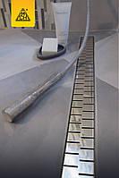 Трап для душа 85см MCH с решеткой Медиум полированная сталь Чехия
