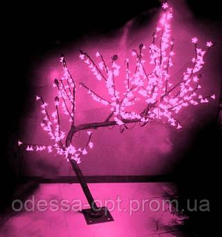 Дерево «сакура» LED-480  розовое (1,8м. )