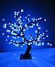 Дерево «сакура» LED-196 синее (80 см. )