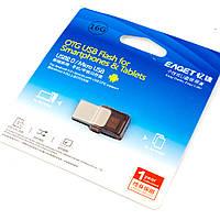 USB флеш накопитель Eaget V9 16GB, флешка USB 2.0 с OTG для смартфона