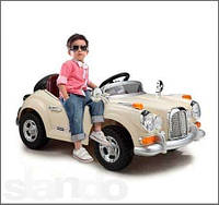 Электромобиль Rolls-Royce, детский електромобиль JE 128 R-13, ретромобиль на аккумуляторе, Rolls-Royc JE 128 R